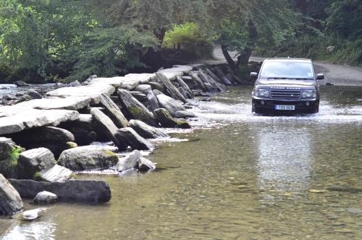 Diabelski most (naprawdę stara konstukcja) oraz bród w