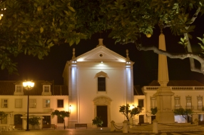 Igreja - Kościół na rynku w Vila Real de Sao Antonio