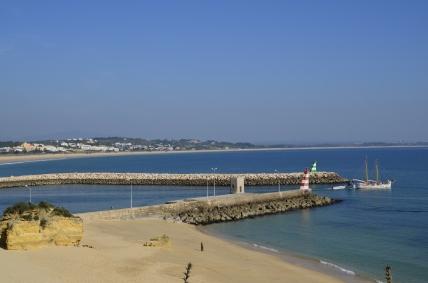 Wyjście z portu w Lagos