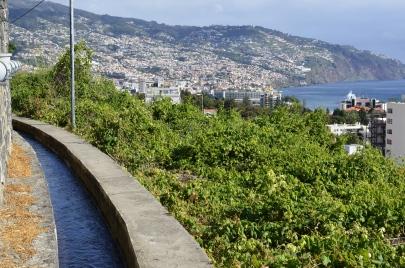 Levada z widokiem na Funchal